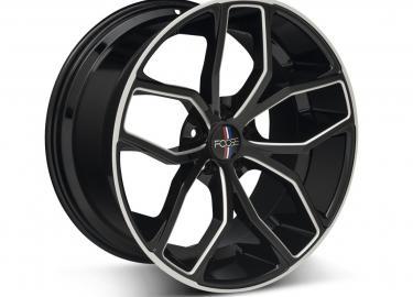 Chip Foose: Black Machined Wheel